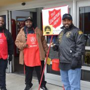 2018 Salvation Army Volunteer Work